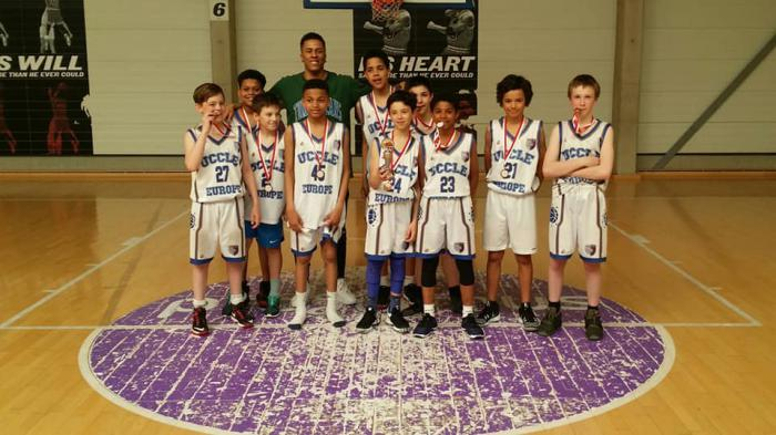 L'équipe U12 remporte le tournoi international de Charleroi